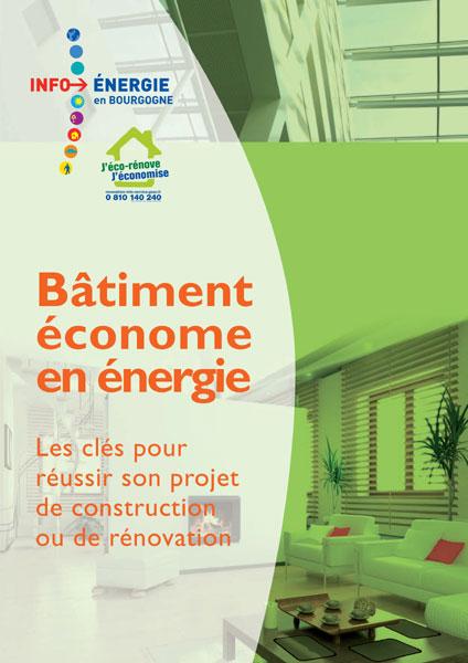 Guide du bâtiment économe en énergie