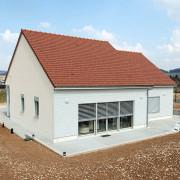 Visite info énergie bourgogne - maison passive en ossature bois image une - novembre 2015