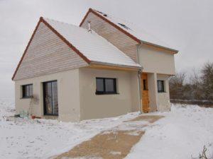 Construction ossature bois RT2012