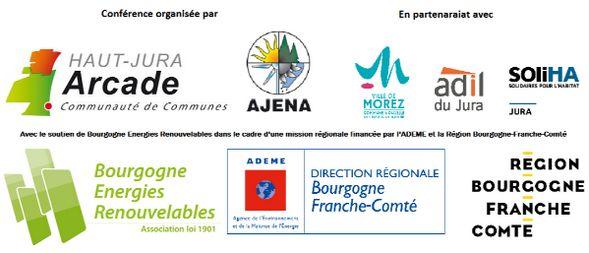 Partenaires conférence copropriétés à Morez