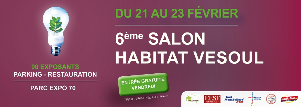 Salon de l'habitat 2020 à Vesoul
