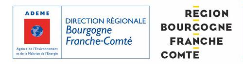 Les financeurs principaux des Espaces INFO→ ÉNERGIE Bourgogne-Franche-Comté, membre du réseau FAIRE