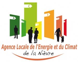 Logo Agence Locale de l'Énergie et du Climat de la Nièvre